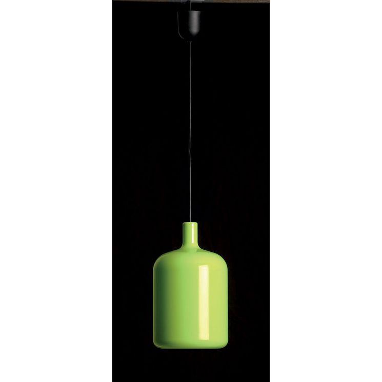 Éclairage de cuisine Suspension câble TOLA Polyuréthane vert 20cm