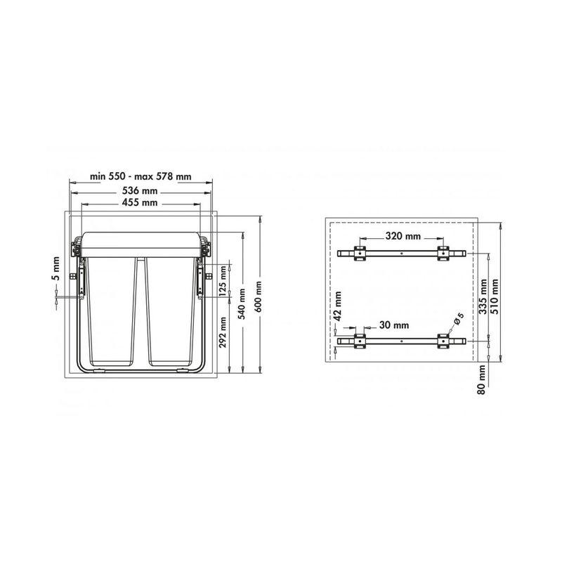 poubelle encastrable 30 litres trendy poubelle encastrable with poubelle encastrable 30 litres. Black Bedroom Furniture Sets. Home Design Ideas