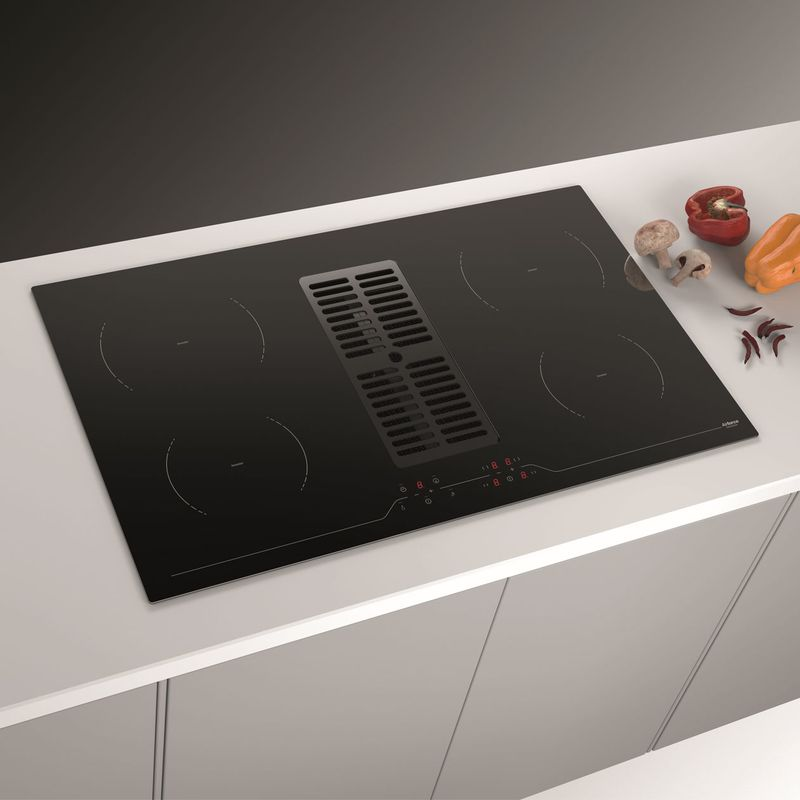 plaque de cuisson avec hotte int gr e marque airforce aspira centrale. Black Bedroom Furniture Sets. Home Design Ideas