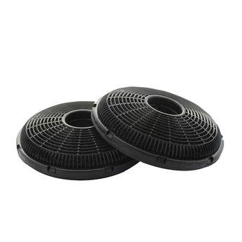 Lot de 2 Filtres à charbon longue durée pour Hotte Silverline OUREA / NIX / LUKO  CHACC057