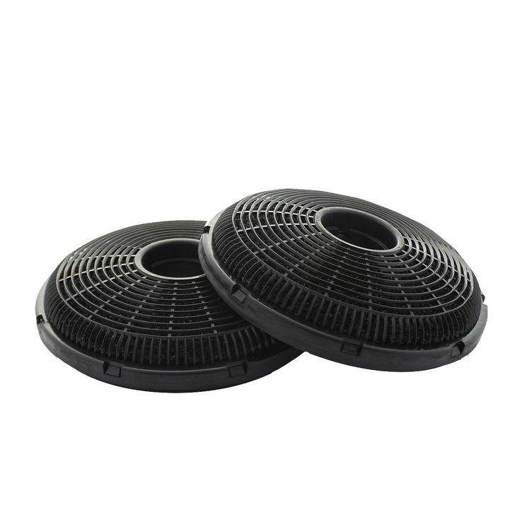 Lot de 2 Filtres à charbon longue durée pour Hotte Silverline OUREA / OLI / LUKO  CHACC057