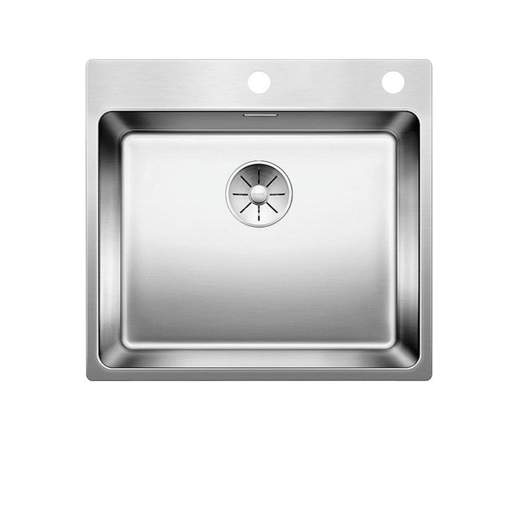 Evier inox satiné  BLANCO ANDANO 500-IF/A 1 grand bac