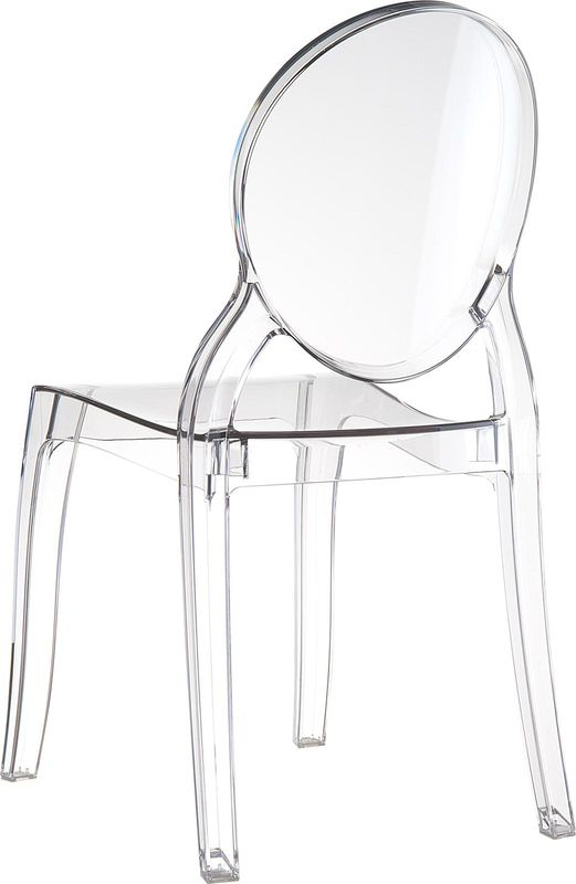 chaise plexi transparente fly advice for your home