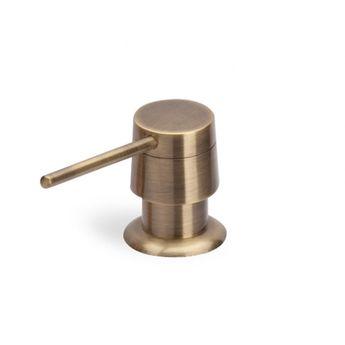 Distributeur de savon Aquasanita vieux bronze CRBDS015
