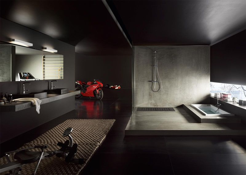 stunning mitigeur salle de bain mural ideas. Black Bedroom Furniture Sets. Home Design Ideas