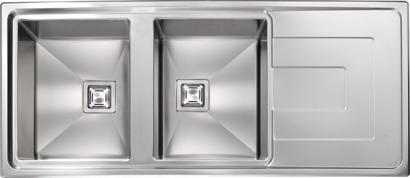 Finest delightful castorama evier inox bacs with evier for Evier inox design