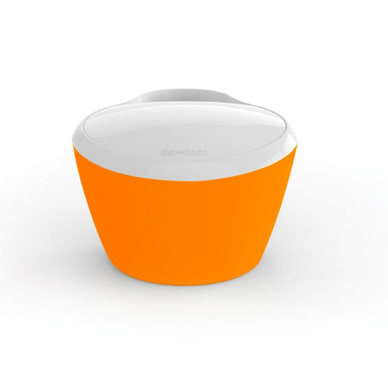 Porte jouets pour la baignoire gedy orange vente for Accessoire porte savon pour baignoire